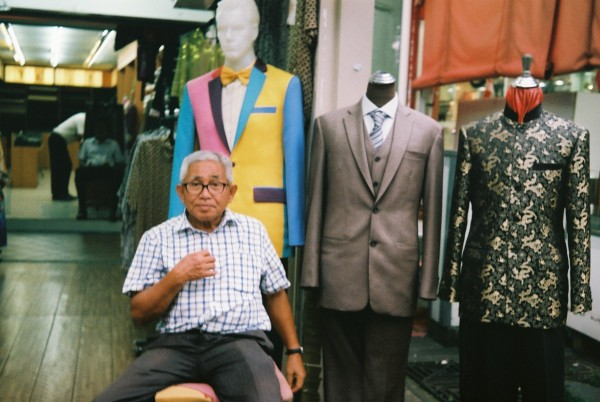 Street Photography Singapore on Film